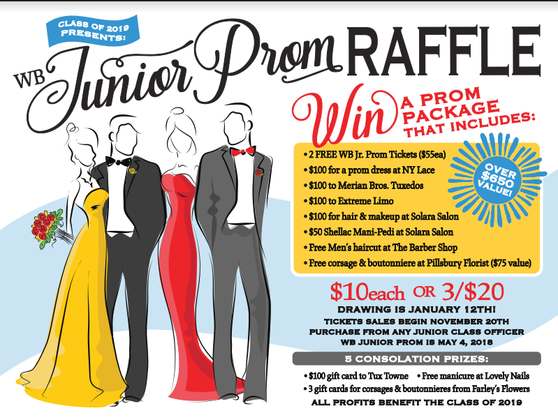 Prom Package Raffle